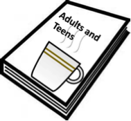 Adult and Teen Book with Picture of Coffee on the Cover