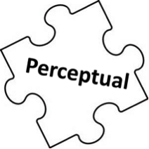 Perceptual puzzle piece
