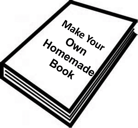 """Make Your Own Homemade Book"" book"