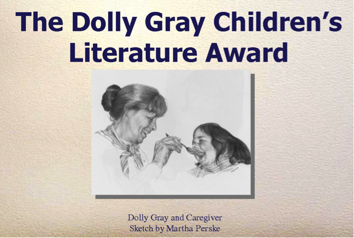 Dolly Gray and Caregiver sketched by Martha Perske